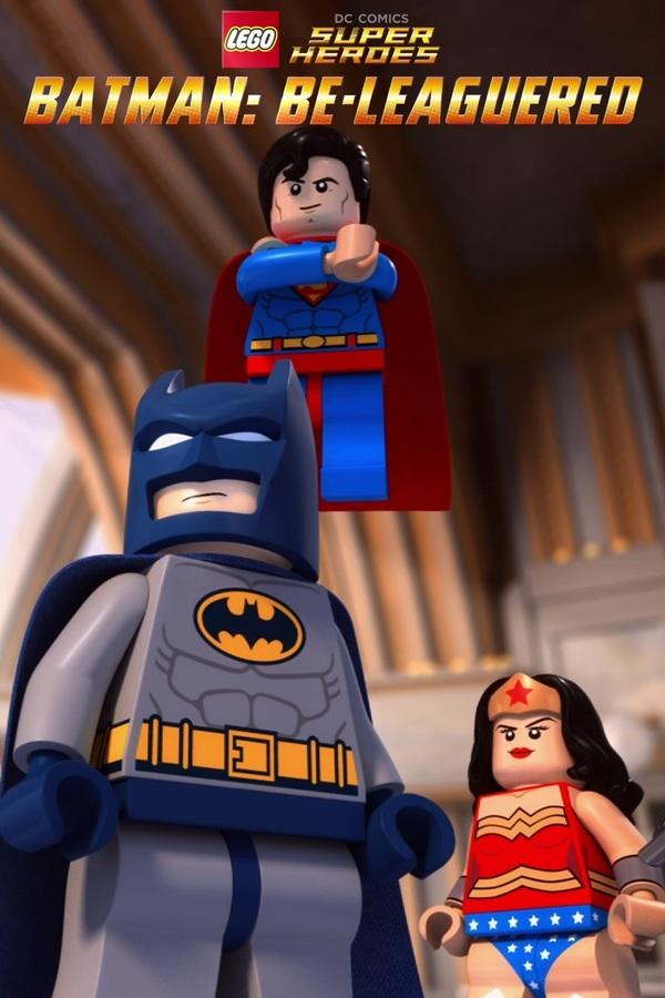 Superhrdinové: Batman do Ligy! online