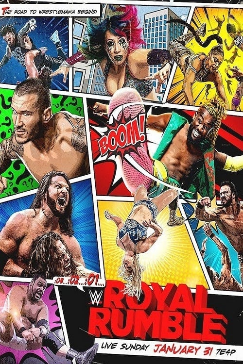 WWE Royal Rumble 2021 online