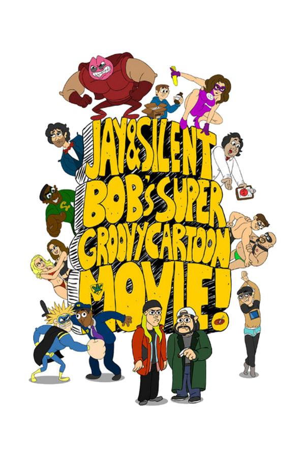 Jay and Silent Bob's Super Groovy Cartoon Movie online