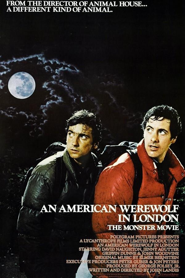 Americký vlkodlak v Londýně online