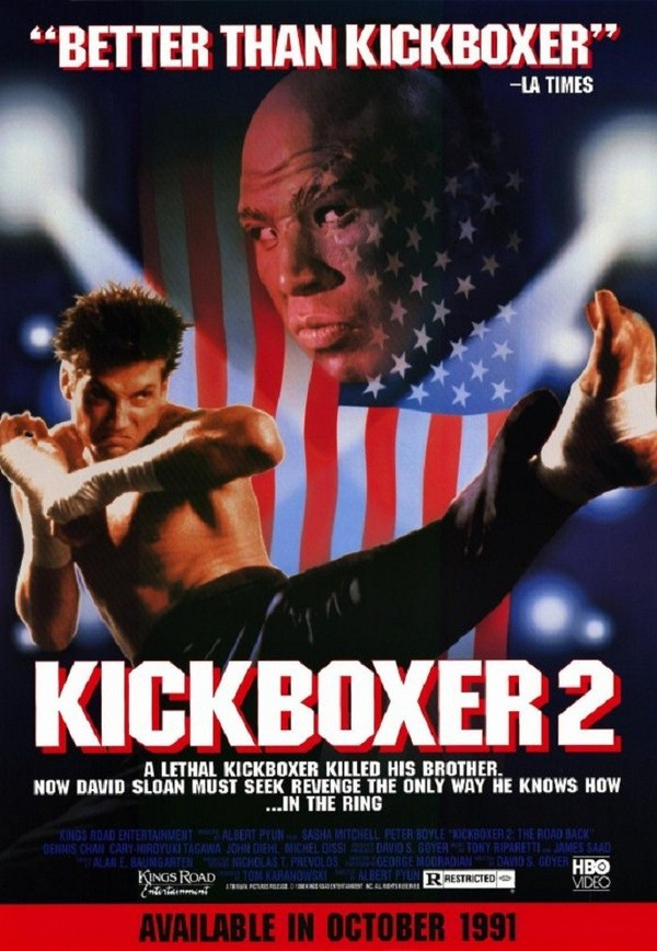 Kickboxer 2:  The Road Back online