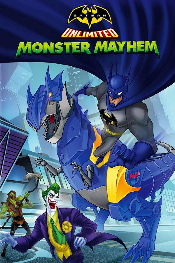 Všemocný Batman: Zvířecí Monstermánie online