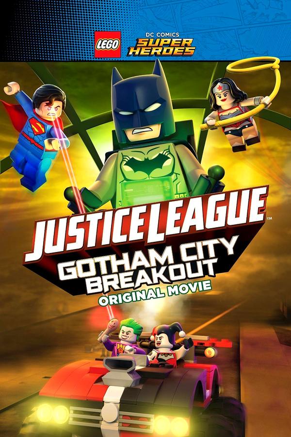Lego DC Super hrdinové: Útěk z Gothamu online