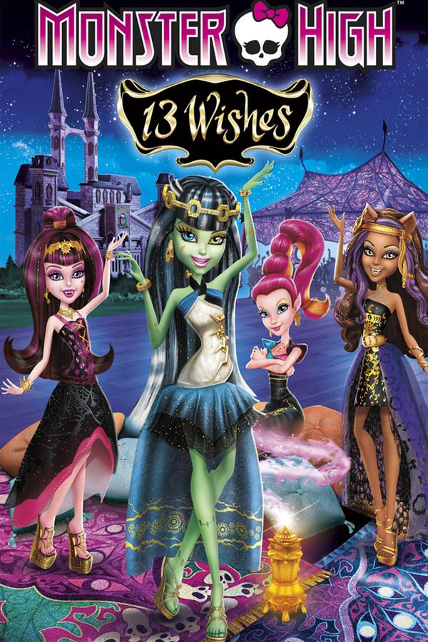 Monster High: 13 Přání online