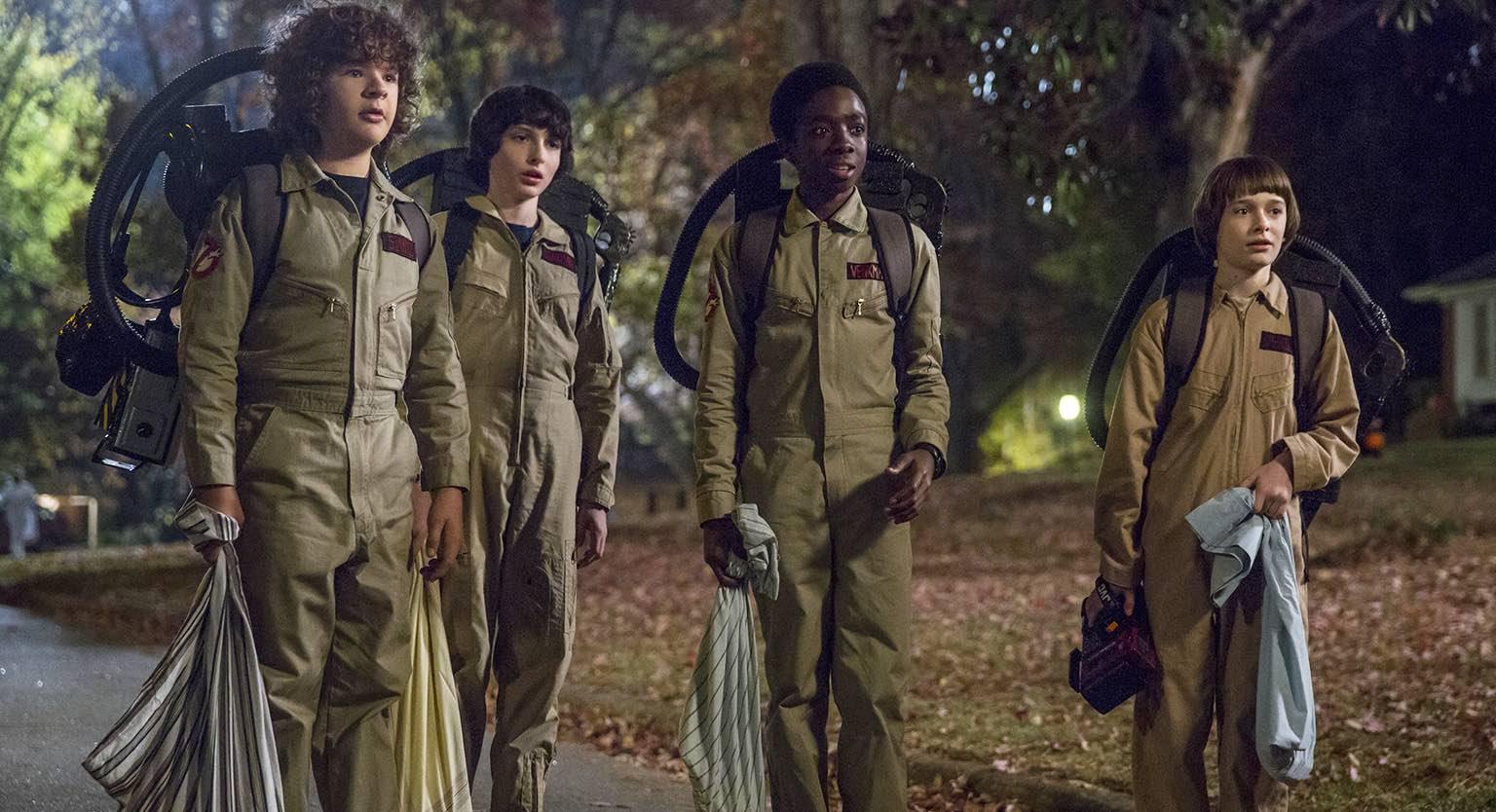 Od Krotitelů duchů k Vetřelcům - všechny odkazy z druhé sezóny Stranger Things