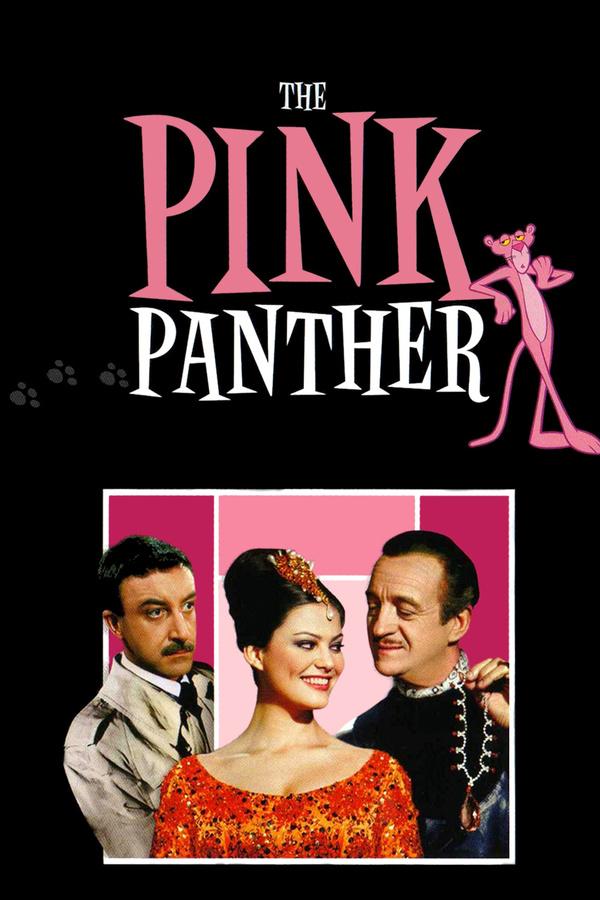 Růžový panter online
