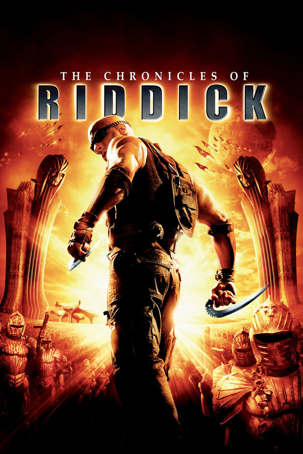 Riddick: Kronika temna online