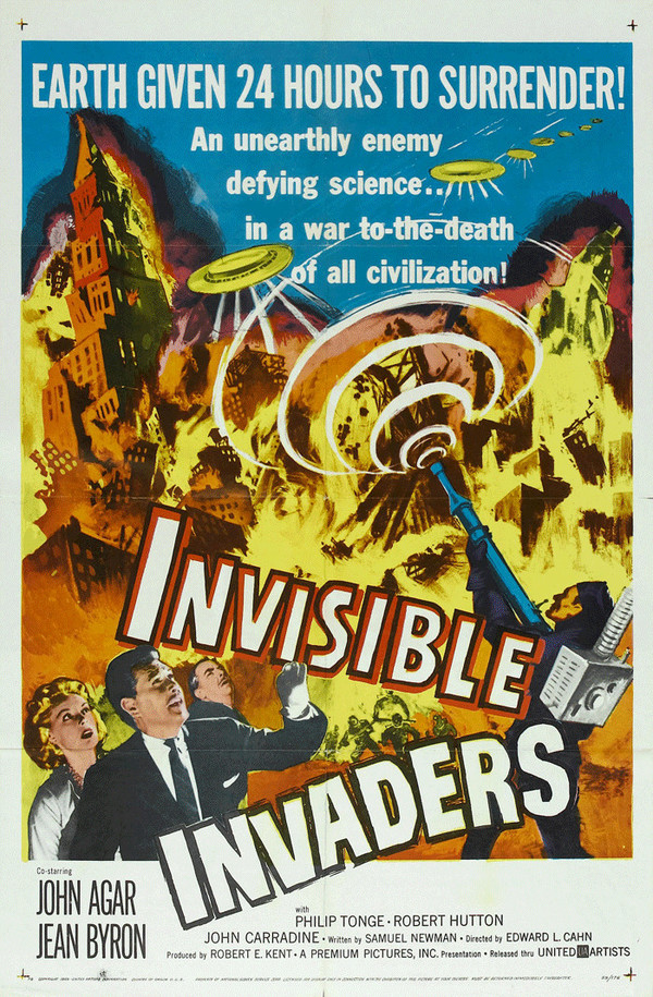 Invisible Invaders online