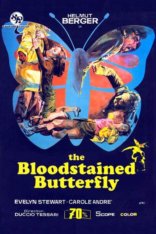 Motýl s křídly od krve online
