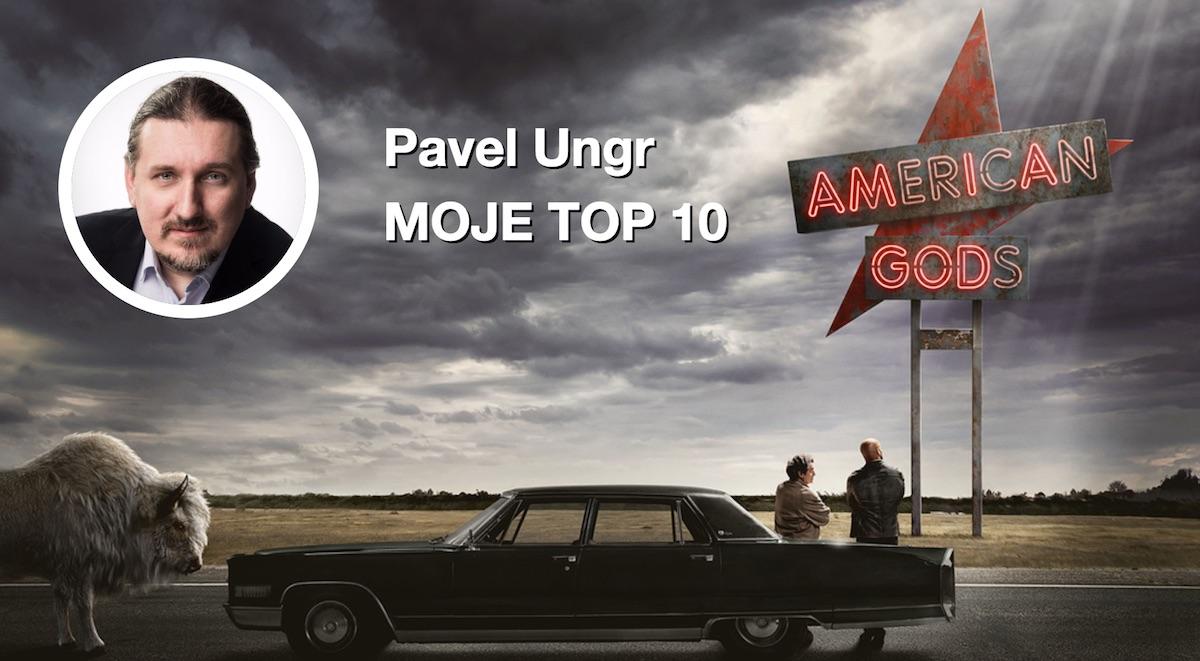 Pavel Ungr: Ian McShane je v American Gods božský