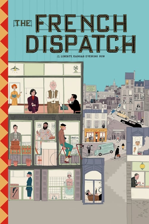 The French Dispatch online