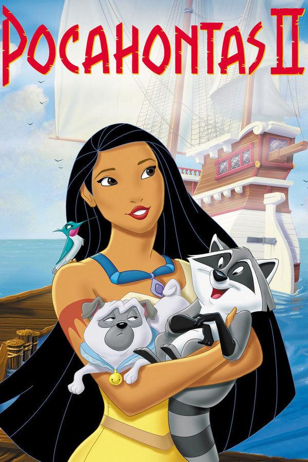 Pocahontas II: Cesta do Nového světa online