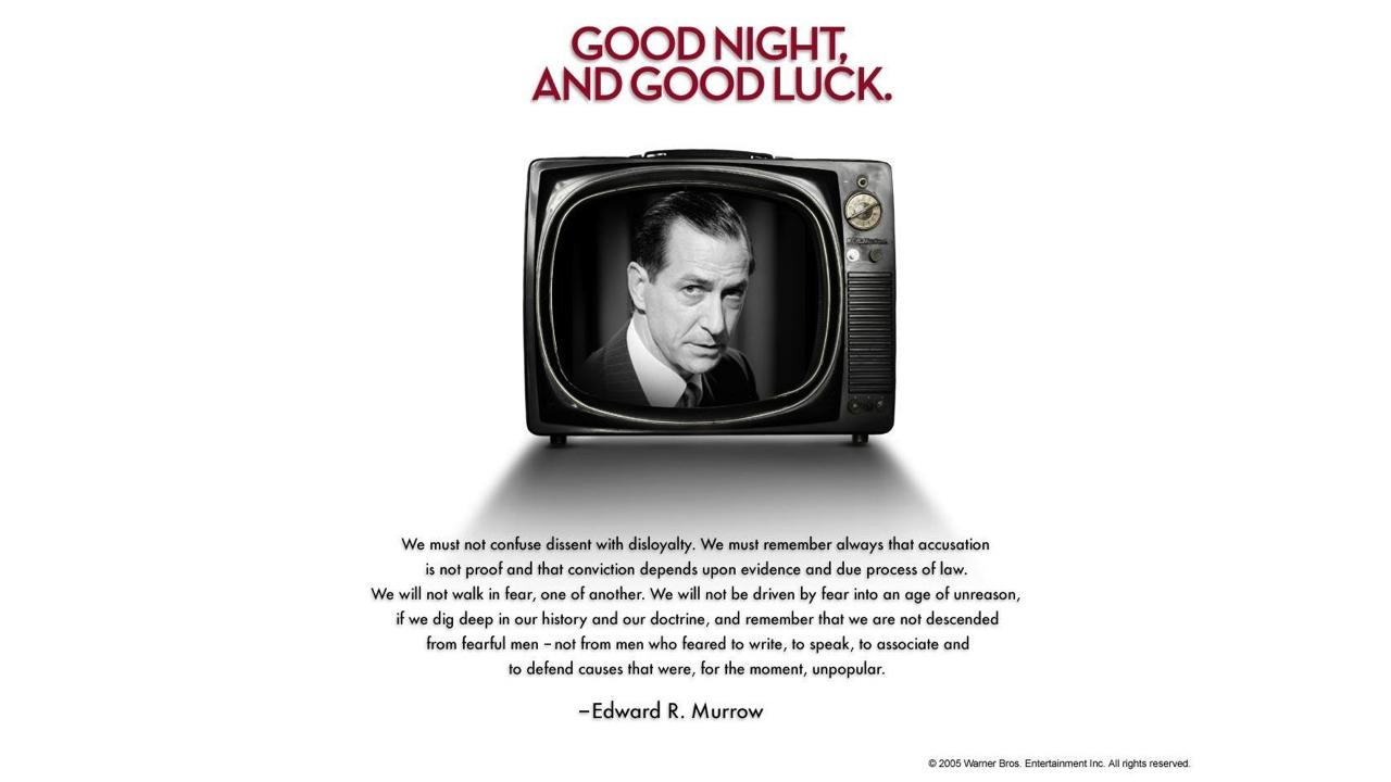 Dobrou noc a hodně štěstí
