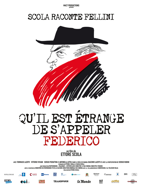 How Strange to Be Named Federico: Scola Narrates Fellini online