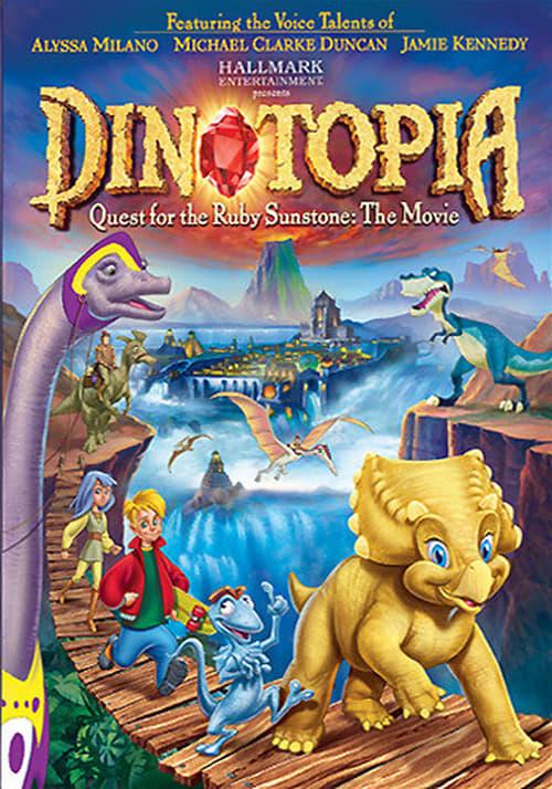 Dinotopie: Výprava za kamenem Slunce online