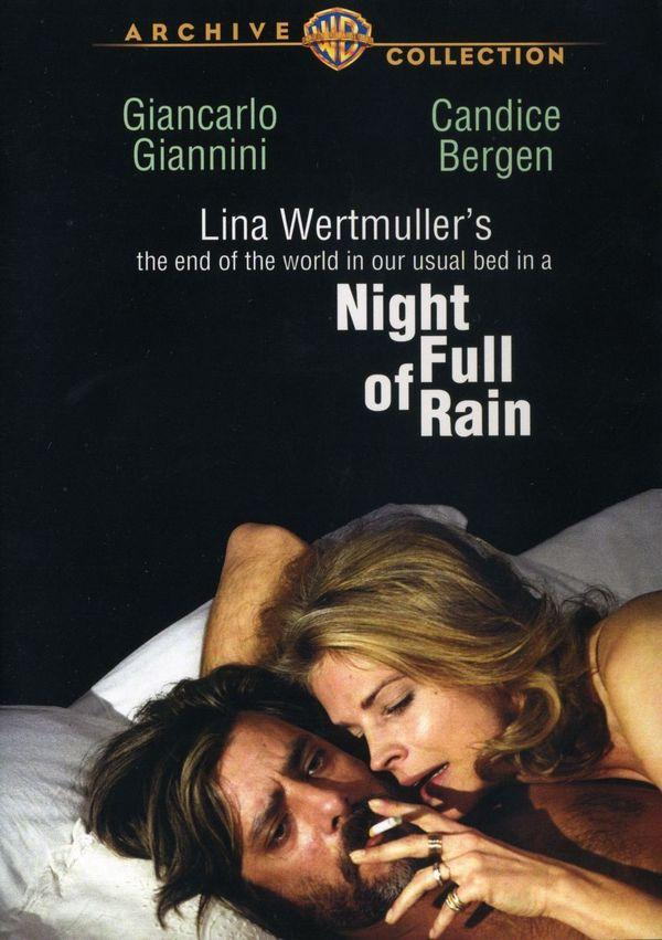 La fine del mondo nel nostro solito letto in una notte piena di pioggia online