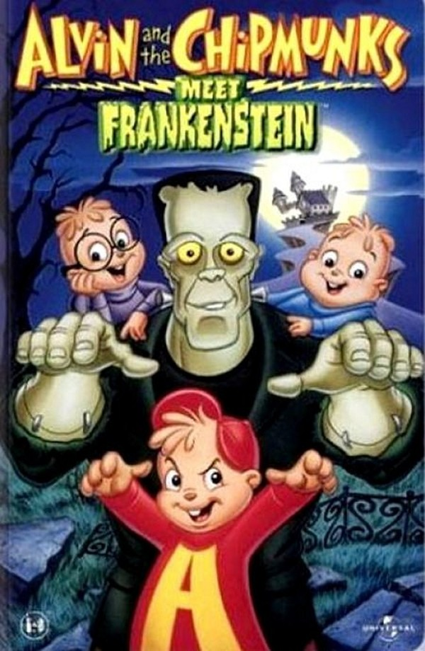 Alvin a Chipmunkové: Setkání s Frankensteinem online