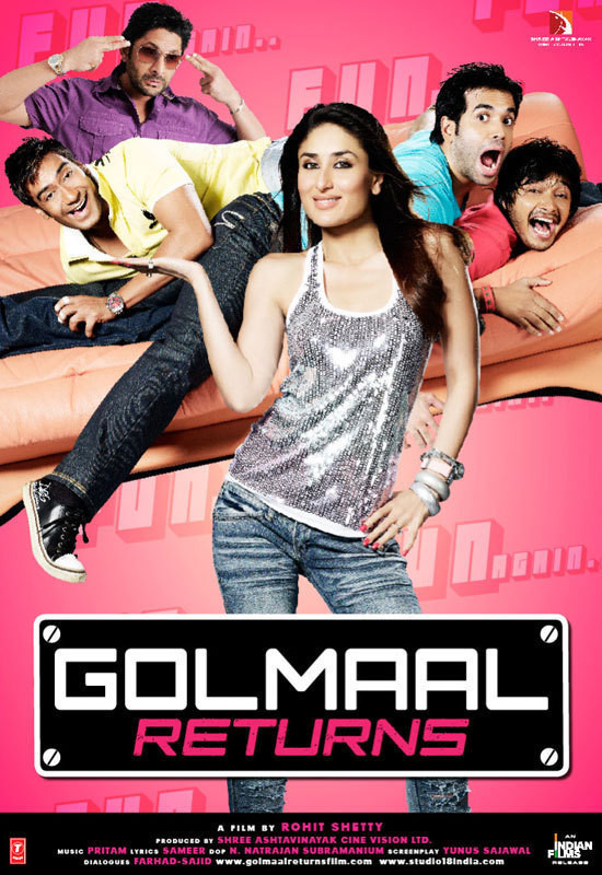 Golmaal Returns online