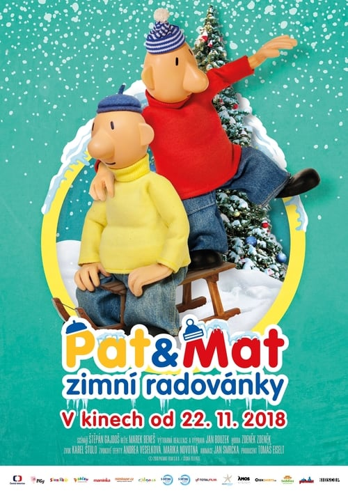 Pat a Mat: Zimní radovánky online