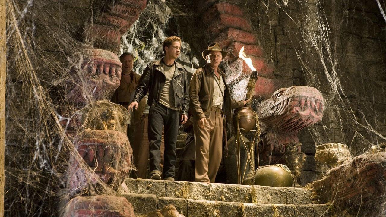 Indiana Jones a království křišťálové lebky online