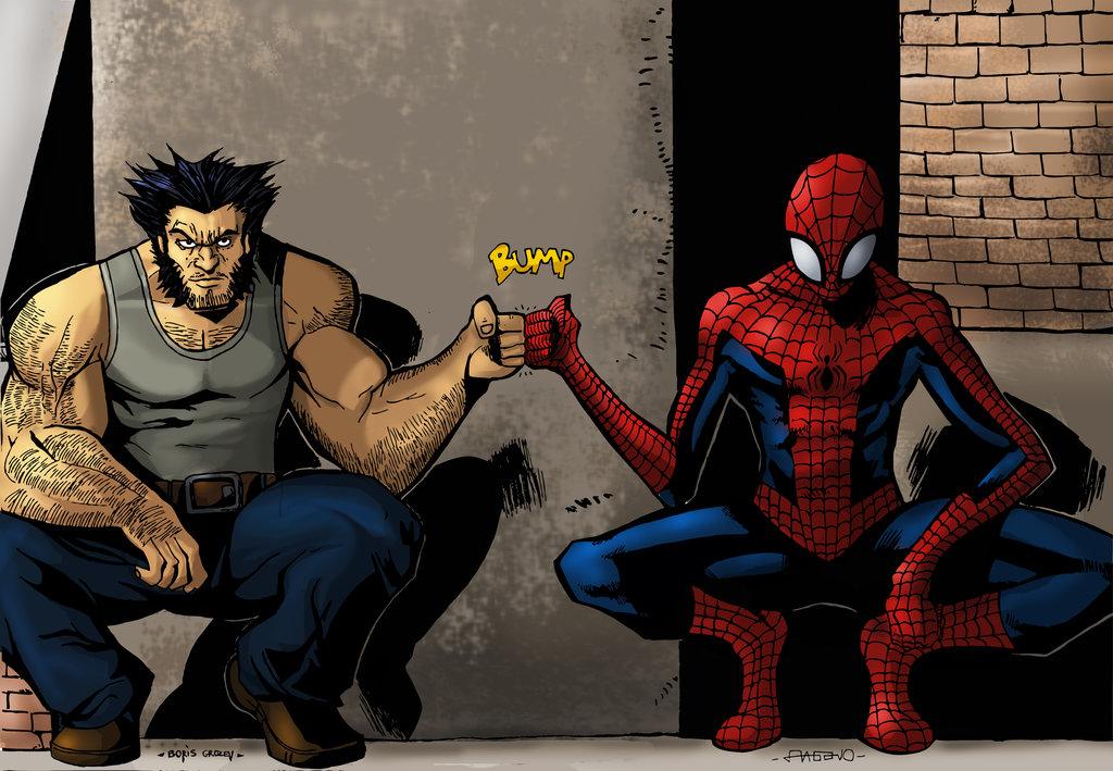 Wolverine ve Spider-Manovi