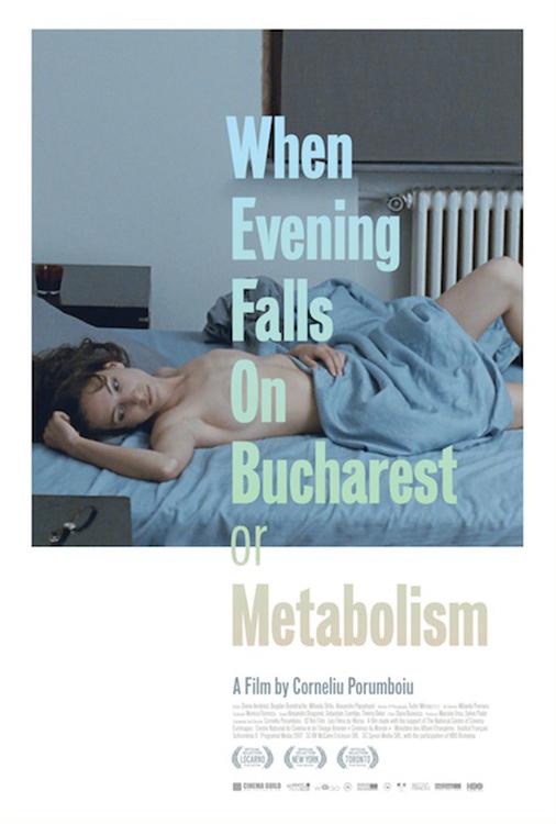When Evening Falls on Bucharest or Metabolism online