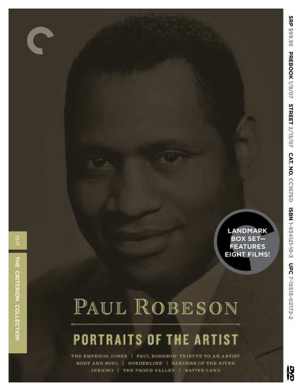 Paul Robeson: Tribute to an Artist online