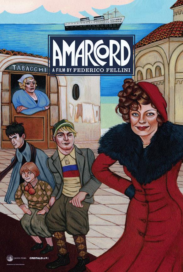 Amarcord - Tržby a návštěvnost