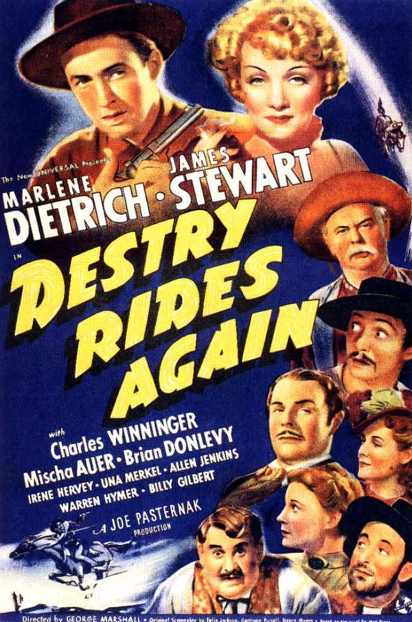 Destry Rides Again online