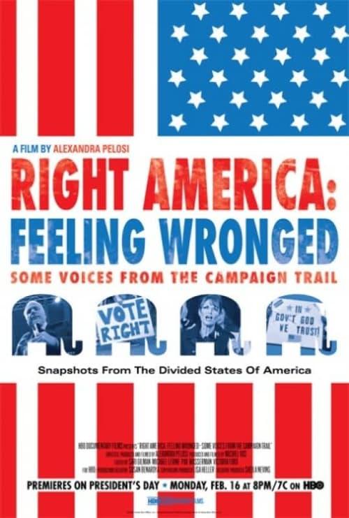 Pravá Amerika: Hlasy kampaně - pocit křivdy online