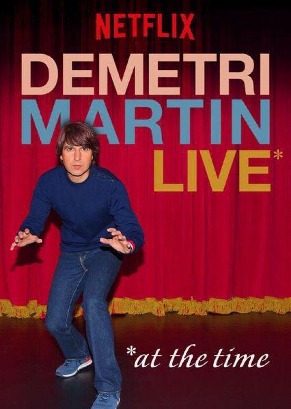 Demetri Martin: Live online