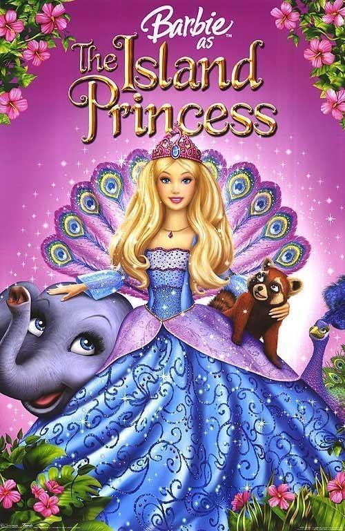 Barbie jako princezna z ostrova online