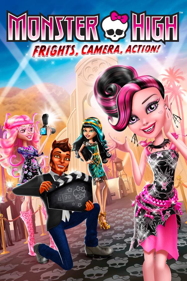 Monster High: Kamera, lebka, jedem! online