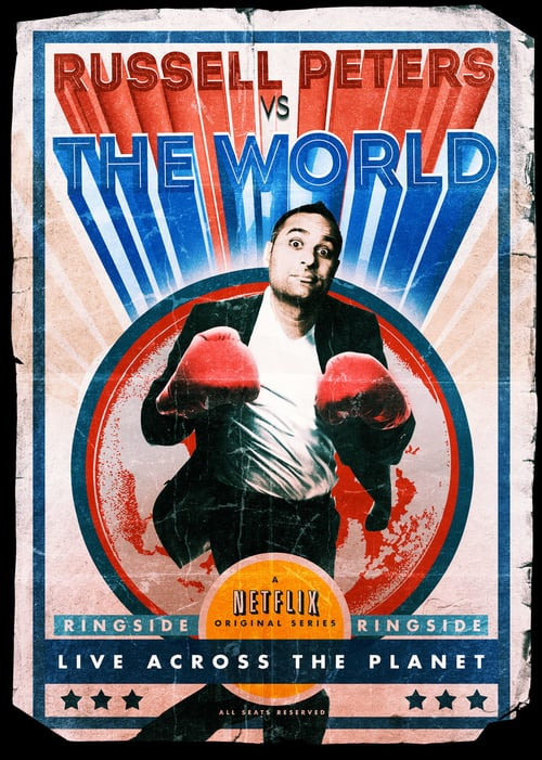 Russell Peters vs. the World online