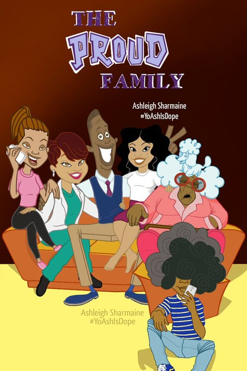 The Proud Family online