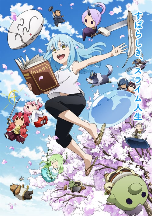 The Slime Diaries: That Time I Got Reincarnated as a Slime online