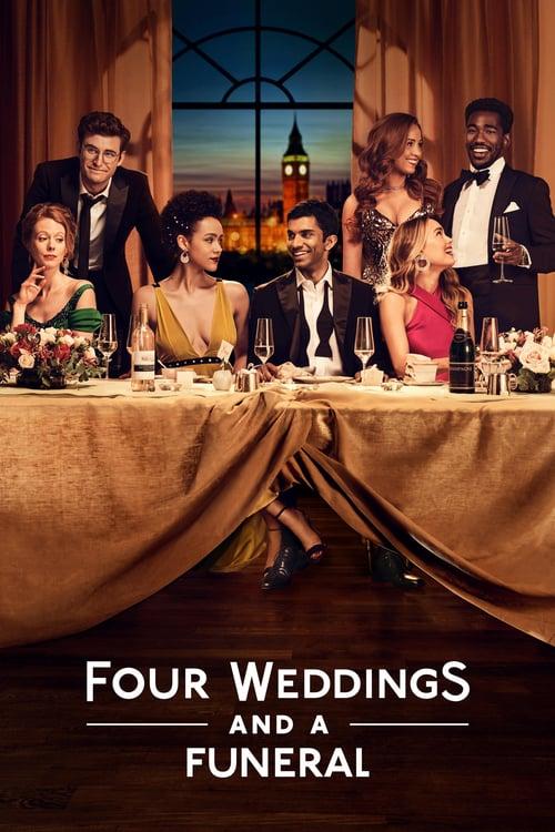 Čtyři svatby a jeden pohřeb online