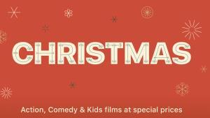 Vánoční megaslevy na iTunes, 150 dobrých filmů za 79 Kč