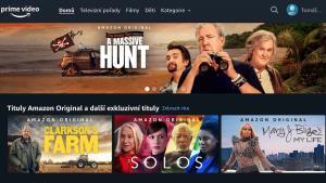Amazon Prime Video rozhraní konečně v češtině, blýská se na lepší časy?