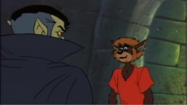 Scooby-Doo a nešťastný vlkodlak