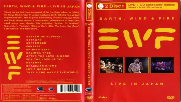 Earth Wind and Fire - Live in Japan