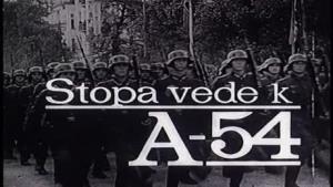 Stopa vede k A-54