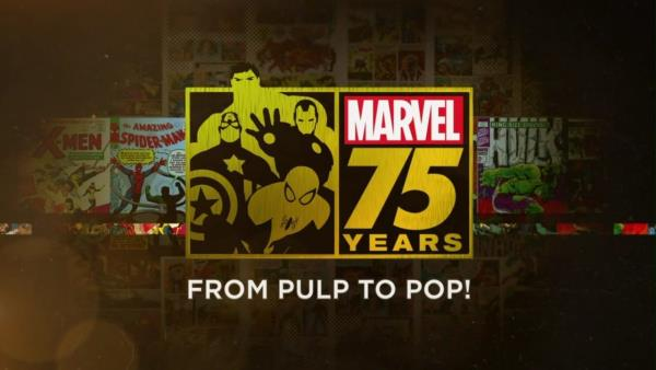 Marvel: 75 Years, From Pulp To Pop!