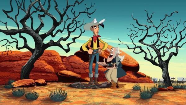 Lucky Luke na Divokém západě