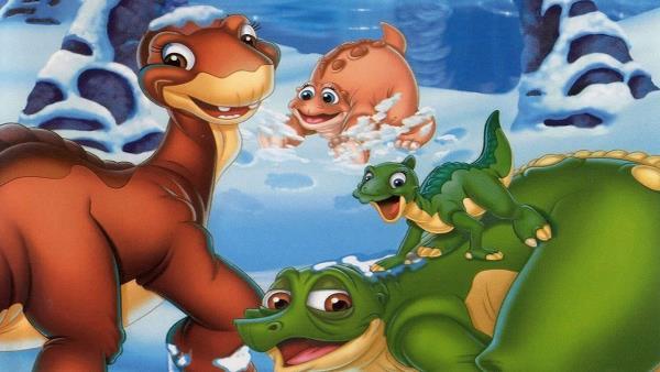 Země dinosaurů 8 - Doba ledová