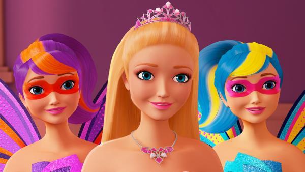 Barbie: Odvážná princezna