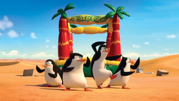 Tučňáci z Madagaskaru download
