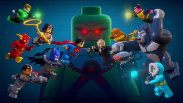 Lego: Liga spravedlivých vs Legie zkázy