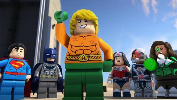 Lego DC Super hrdinové: Aquaman