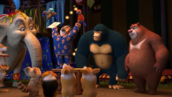 Boonie Bears: The Big Top Secret